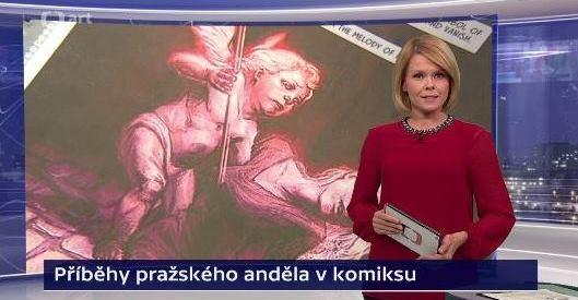 Kateřina Bílková introduces the segment