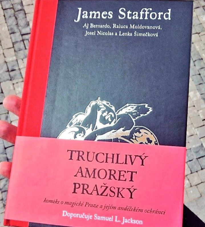 The Sorrowful Putto of Prague now in good Czech bookshops throughout The  Republic – The Sorrowful Putto of Prague